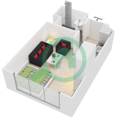 المخططات الطابقية لتصميم النموذج 2 شقة  - عزيزي برتون