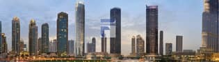 7 Breathtaking Views -  2 Bedroom Apartment  in Downtown Dubai