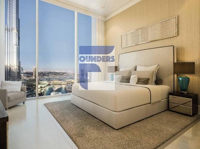 8 Breathtaking Views -  2 Bedroom Apartment  in Downtown Dubai