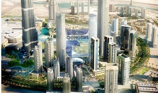 شقة 2 غرفة نوم للبيع في وسط مدينة دبي، دبي - Pay 75% Post handover in 5 Years - 2 Bedroom Apartment