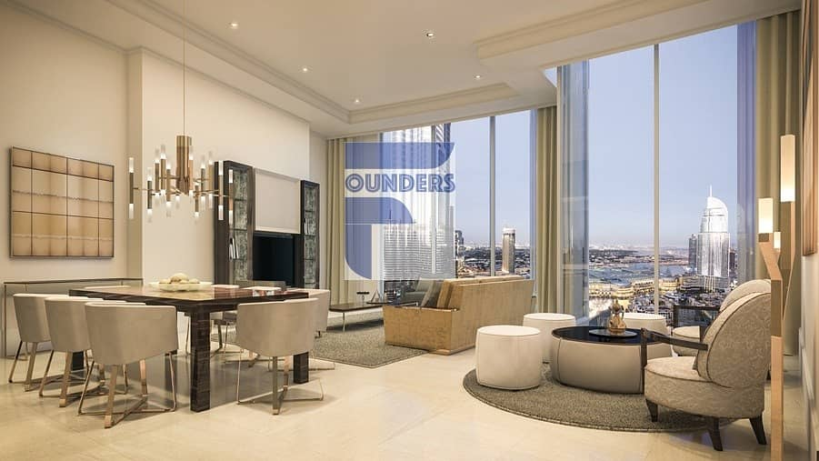 Large 2 Bedroom in Opera Grand  - Best Investment in Downtown Dubai