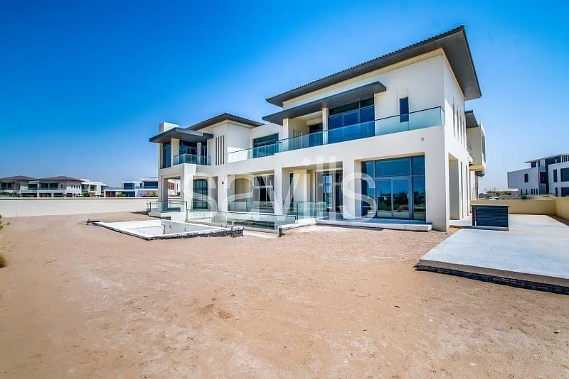 2 Serene Golf and Lake View Finished Modern Mansion