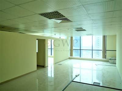 مکتب  للبيع في أبراج بحيرات جميرا، دبي - Partitioned office  in Jumeirah Bay X3 .