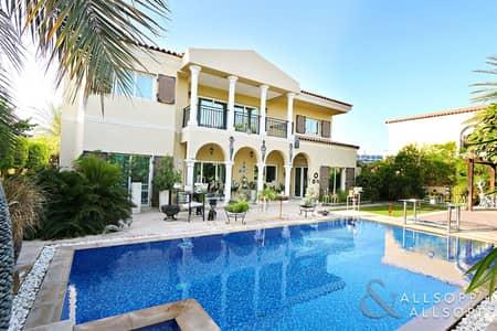 5 Bedroom Villa for Sale in Motor City, Dubai - Cul de Sac Location | Pool | Upgraded <BR/>