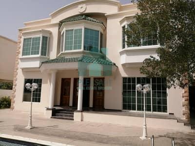 فیلا 5 غرفة نوم للايجار في الصفا، دبي - Pvt. Pool | Independent villa | 5 Br + Maids | Al Safa 2