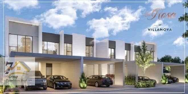 2 La Rosa at Villanova 3 to 4 Bed room townhouses On payment plan.