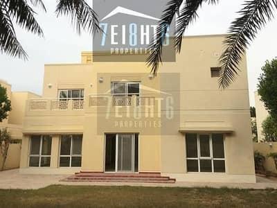 فیلا 5 غرف نوم للايجار في السهول، دبي - Exceptionally maintained: 5 b/r high quality independent villa