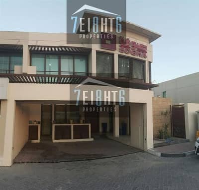 فيلا تجارية 4 غرف نوم للايجار في البدع، دبي - Commercial villa : Approved for Commercial Use: 4 bedroom semi-indep villa for rent in Jumeirah 1