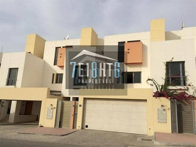 4 b/r modern contemporary design villa maids gym shared s/pool landscaped garden security