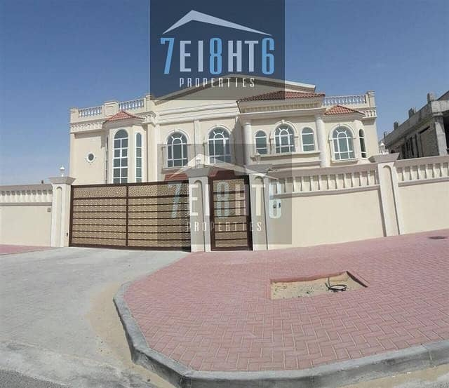 Outstanding quality: 7 b/r spacious brand new independent villa