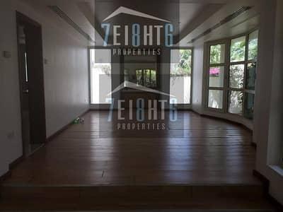 5 Bedroom Villa for Rent in Al Safa, Dubai - 5 b/r modern design compound villa with maids room