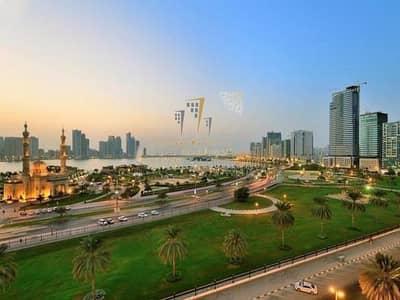 شقة 2 غرفة نوم للبيع في المجاز، الشارقة - For sale an apartment in the best price in Al Majaz area