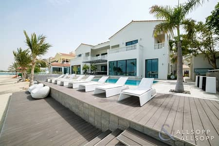 6 Bedroom Villa for Sale in Palm Jumeirah, Dubai - Fully Upgraded And Extended | High Number