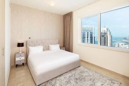 فلیٹ 1 غرفة نوم للايجار في دبي مارينا، دبي - No Commission/Free Bills/ Cleaning included
