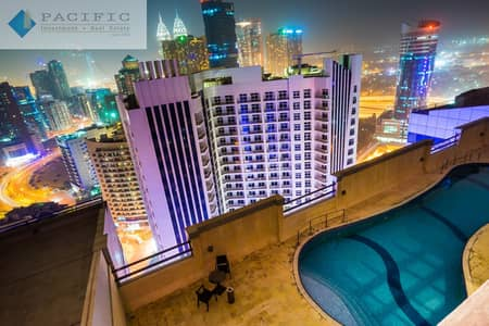 2 Bedroom Apartment for Rent in Barsha Heights (Tecom), Dubai - 2 BR Chiller+1Month Free