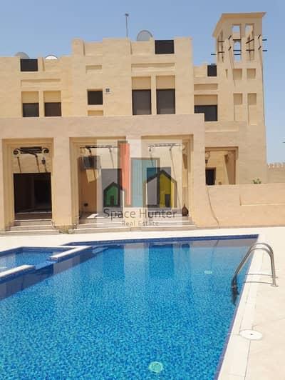 فیلا 5 غرفة نوم للايجار في مردف، دبي - 5 BR Villa - traditional still  for rent in Midriff + M aid