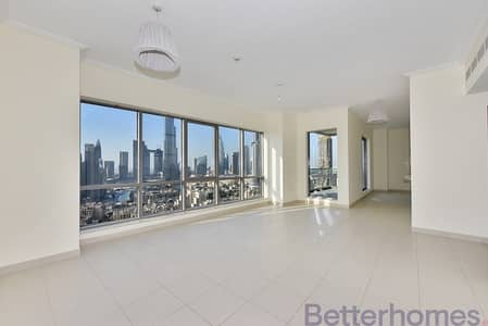 3 Bedroom Flat for Sale in Downtown Dubai, Dubai - 3 bed plus maids | Burj & Fountain View
