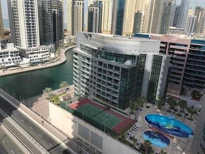 استوديو  للبيع في دبي مارينا، دبي - شقة في برج زمرد دبي مارينا 550000 درهم - 4069582