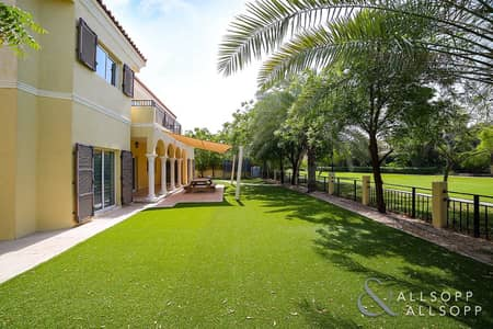 5 Bedroom Villa for Sale in Green Community, Dubai - New Exclusive Listing   Backing Park Area