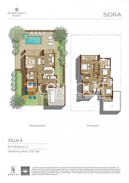 11 Contemporary Villas | Nice Living Area
