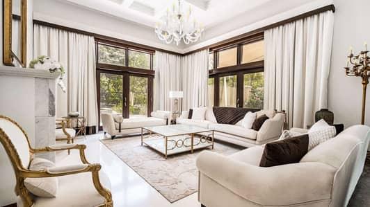 6 Bedroom Villa for Sale in Al Barari, Dubai - Expertly Furnished Dahlia Villa in Desert Leaf