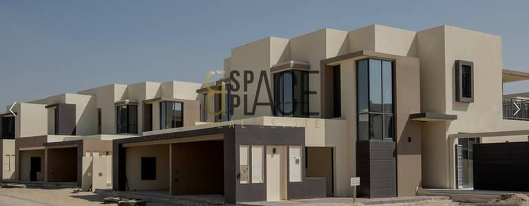 5 Bedroom Townhouse for Sale in Dubai Hills Estate, Dubai - On Main Park N Pool I Single Row I Semi-Detached