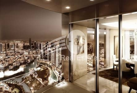 4 Bedroom Apartment for Sale in Downtown Dubai, Dubai - Luxurious Tower Penthouse | Il Primo | Amazing View