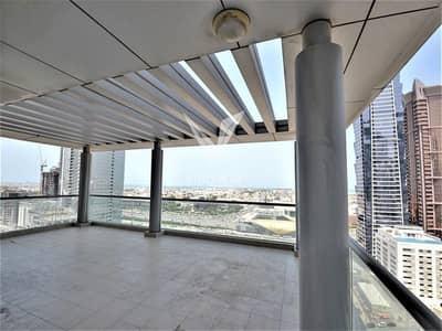 فیلا 2 غرفة نوم للايجار في الخليج التجاري، دبي - 2 Bed + Rear Terrace Apt with Sea View
