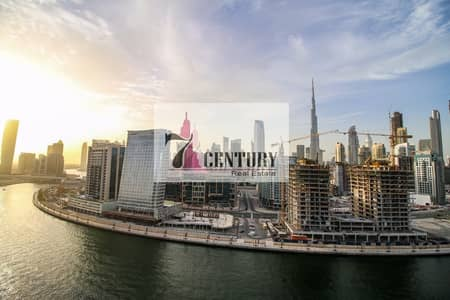 1 Bedroom Apartment for Sale in Business Bay, Dubai - Cheapest 1br with full canal & burj khalifa view