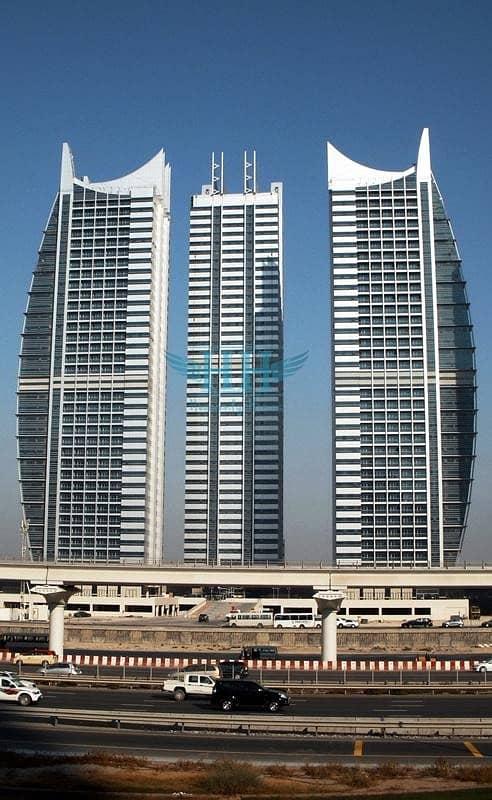 12 Fantastic 1 BR  in Armada Tower JLT I Near to Marina Mall