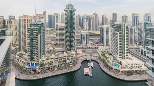 Spacious Apartment at Marina Tower with Panoramic Marina View