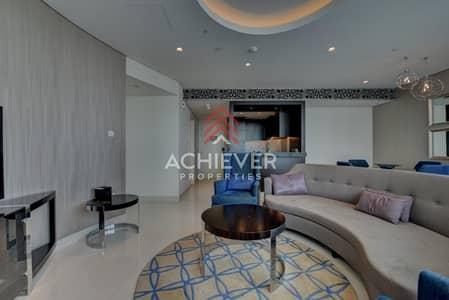 شقة 2 غرفة نوم للايجار في وسط مدينة دبي، دبي - Luxurious 2 BR Serviced Apt | High Floor