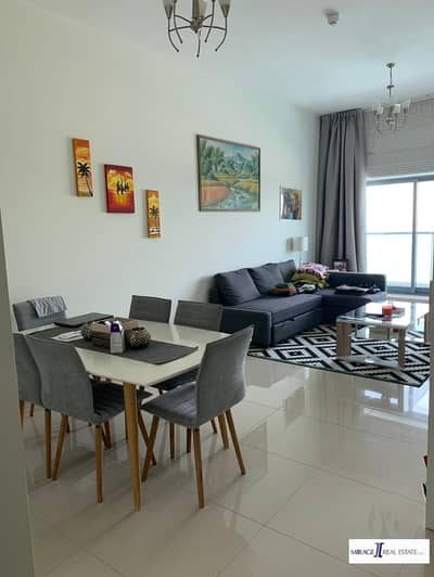 Fully Furnished 1 BHK in Bermuda Views Tower Just in 52000
