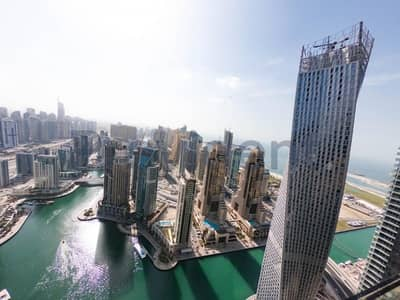 فلیٹ 1 غرفة نوم للبيع في دبي مارينا، دبي - Own a Property Now!|Full Marina View|High Floor