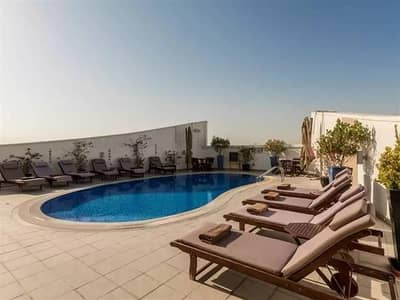 2 Bedroom Apartment for Rent in Al Barsha, Dubai - FULLY FURNISHED CHILLER FREE 2 BHK APT  CLOSE KITCHEN  BALCONY @ 75K 4 CHEQS