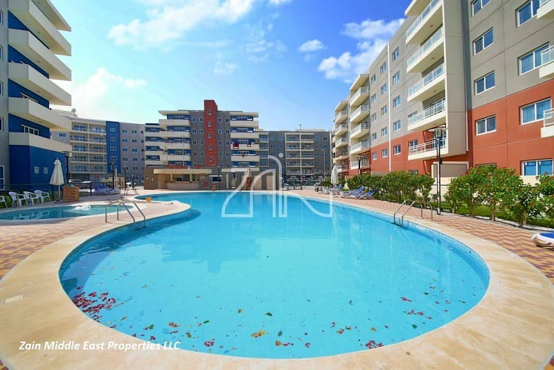 Hot Deal Pool View 3 BR Apt with Balcony