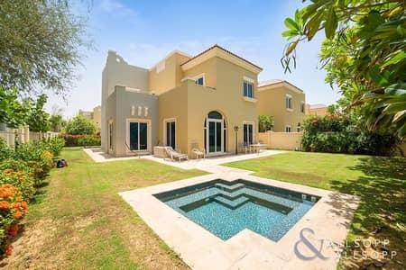 فیلا 4 غرفة نوم للبيع في مدينة دبي الرياضية، دبي - Exclusive | C3 | Jacuzzi | Backing Park