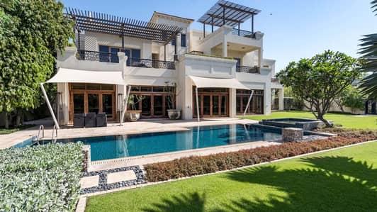 6 Bedroom Villa for Sale in Al Barari, Dubai - Magnificent Six-Bedroom Desert Leaf Villa