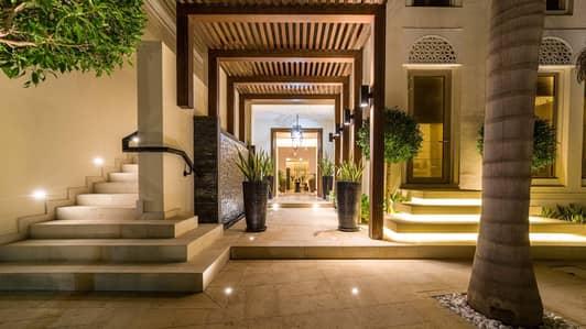 6 Bedroom Villa for Sale in Al Barari, Dubai - Upgraded Six-Bedroom Villa on Large Plot in Al Barari