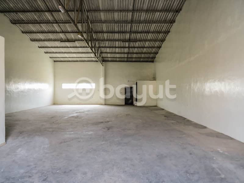 2 DIRECTLY FROM THE OWNER WAREHOUSE AVAILABLE FOR RENT AT RAS AL KHOR IND.