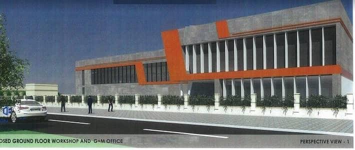 Warehouse for Sale in Dubai Industrial Park, Dubai - Office Block