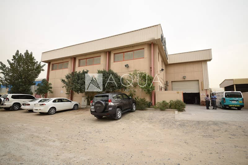 2 Vacant Warehouse with Office and Mezzanine