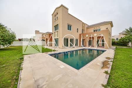 6 Bedroom Villa for Sale in Dubai Sports City, Dubai - Exclusive Big Plot Vacant Golf Lake View