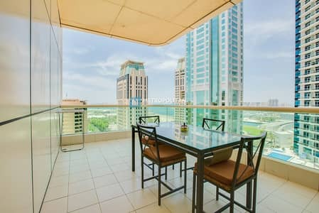 Studio for Sale in Dubai Marina, Dubai - Partial Sea View | Huge Balcony | Vacant On Transfer