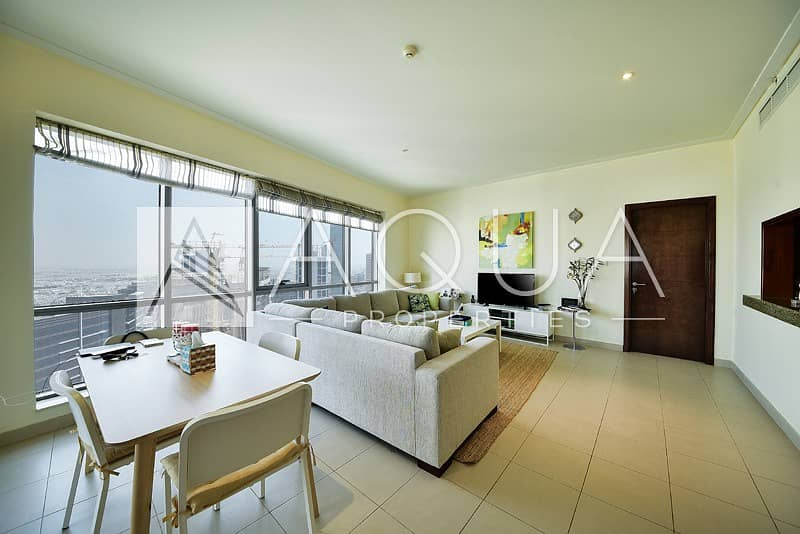 High floor |  Great views |  1 Bed Unit