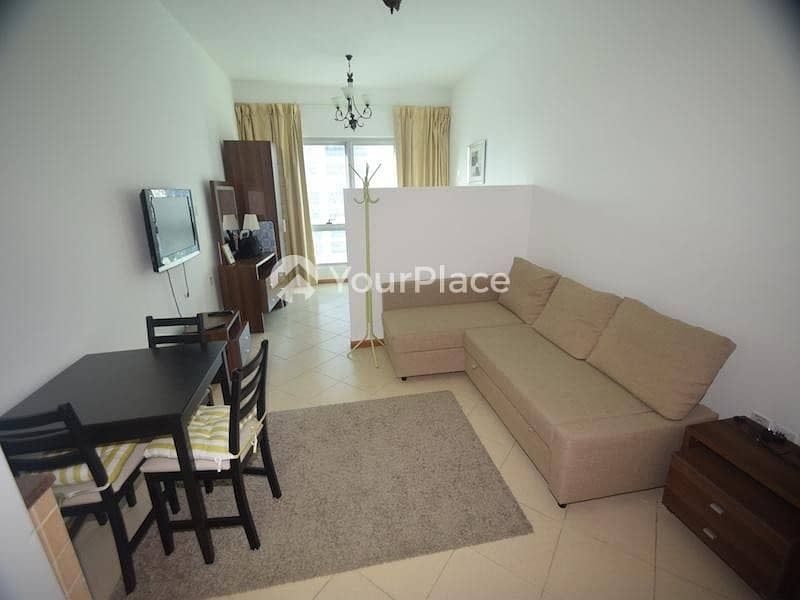 Furnished Studio Available for Sale