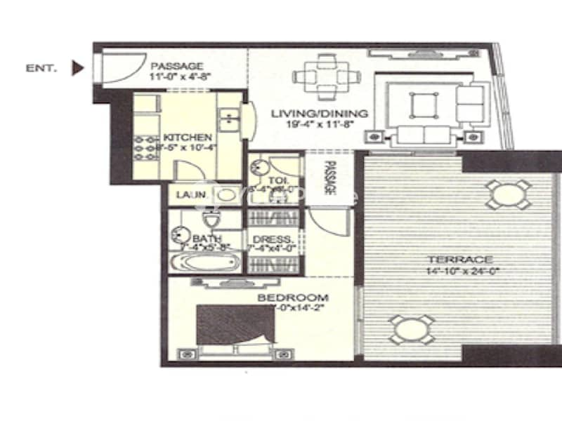 10 Marina View 1 Bedroom Apartment Sky View Tower