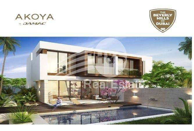 Semi Detached 3bed Villa in Longview Akoya Park