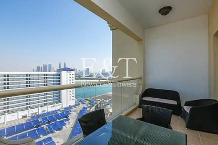 1 Bedroom Flat for Sale in Palm Jumeirah, Dubai - Beautiful Sea View Penthouse Level 1BR B1