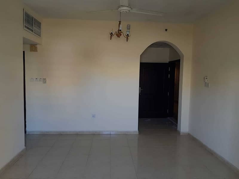 1 Bed/Hall AED 1670 Monthly in 12 Cheques King Faisal Road